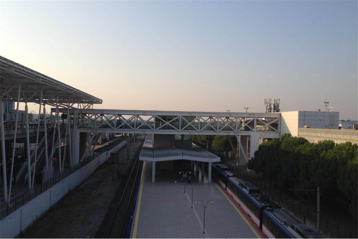 Adnan Menderes Havalimanı Otopark Bağlantı Köprüleri ve Kanopiler